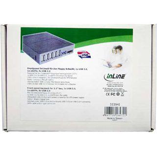 "InLine 5x USB 2.0/eSATA/USB 3.0 Front Panel für 3,5"" (33394I)"
