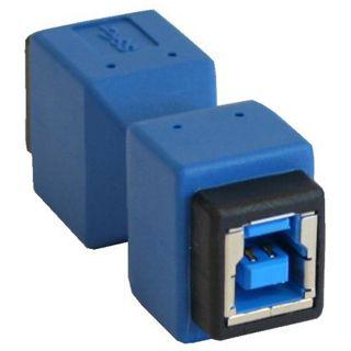 InLine USB 3.0 Adapter, , Buchse B auf Buchse B