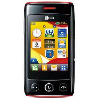 LG Electronics LG Electronics T300 black red