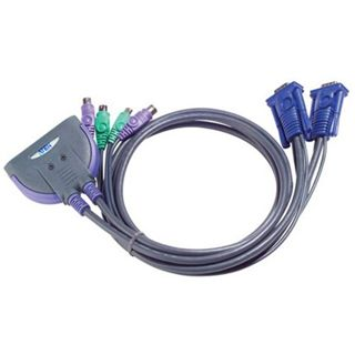 ATEN Technology CS62Z-AT 2-fach Kabel KVM-Switch