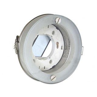 DeLock Light GX53 Fassung Einbau rund Glas II