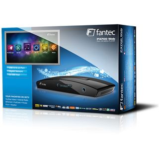 """Fantec Multimedia 3,5"""" P3700 Web Media Streamer"""