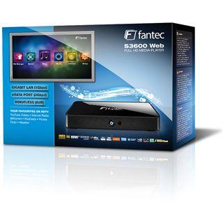 "Fantec Multimedia 3,5"" S3700 Web Media Player 1TB [bk]"