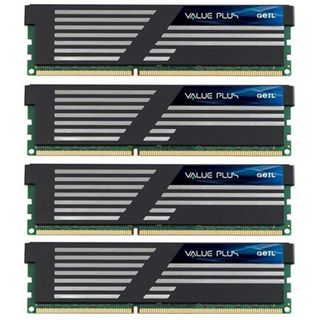 16GB GeIL Value Plus DDR3-1333 DIMM CL9 Quad Kit