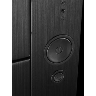 Lian Li schwarze Power-/Reset-Taster für Lian Li PC-A71F (PT-SK07B)