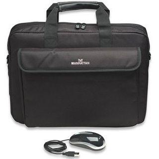 """Manhattan Tasche Mobile Professional Set 39,1cm (15,4"""") + Maus [bk]"""