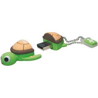 4 GB EMTEC M316 Turtle gruen USB 2.0