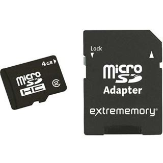32 GB Extrememory Standard microSDHC Class 2 Retail inkl. Adapter