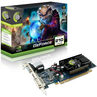 512MB Point of View GeForce 210 Aktiv PCIe 2.0 x16 (Retail)