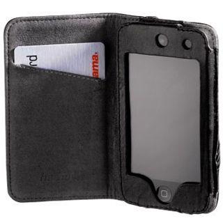 Hama MP3 Tasche Delicate f.iPod touch 4G Ledertasche für Apple iPod touch 4G