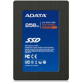 "256GB ADATA S596 2.5"" (6.4cm) SATA 3Gb/s MLC asynchron (AS596TB-256GM-C)"