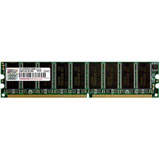 1GB Transcend Value DDR-400 DIMM CL3 Single
