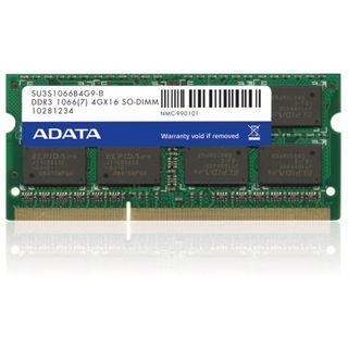 4GB ADATA Value DDR3-1066 DIMM CL7 Single