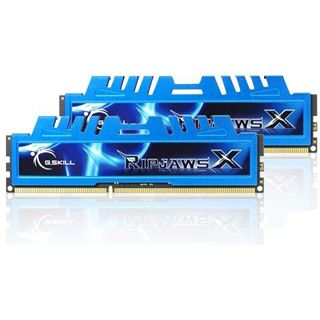 4GB G.Skill RipJawsX DDR3-1600 DIMM CL8 Dual Kit