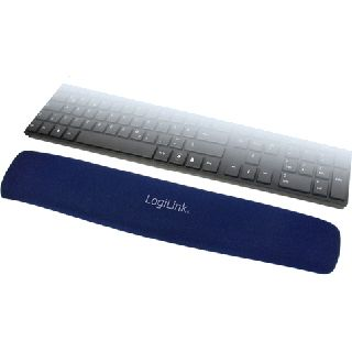 LogiLink Gel Blau Handballenauflage für Tastaturen (ID0045)