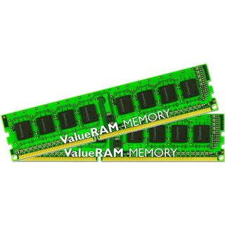 16GB Kingston ValueRAM DDR3-1066 regECC DIMM CL7 Dual Kit