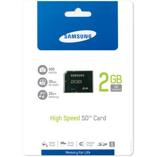 2 GB Samsung Standard SD Class 4 Retail