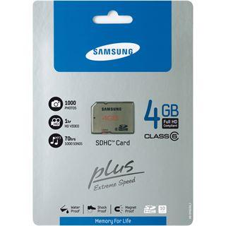 4 GB Samsung Plus SDHC Class 6 Retail