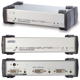 ATEN Technology VS162 2-fach DVI-A/V-Splitter