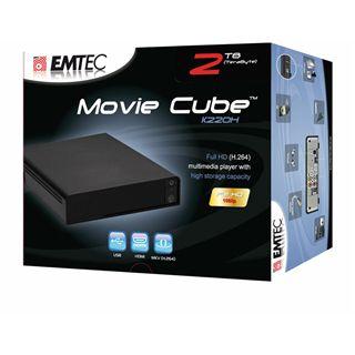 Emtec Movie Cube K220H Full HD Multimediaplayer 1TB