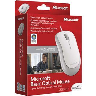 Microsoft OEM Basic PS/2 & USB weiß (kabelgebunden)