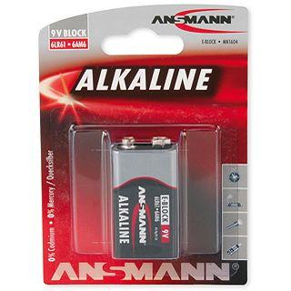 ANSMANN Alkaline 9V / E Block Alkaline 9.0 V 1er Pack