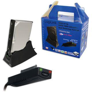 """LogiLink USB 3.0 SATA Adapter für 2.5"""" und 3.5"""" Festplatten (AU0008A)"""