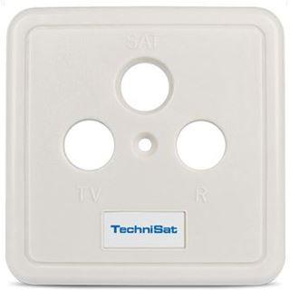 TechniSat Antennensteckdose Abdeckung Weiß