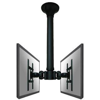 "NewStar LCD-Deckenhalter FPMA-C200D / 10"" (25,4cm) -32"" (81,28cm) Schwarz"