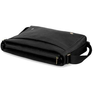 """CoolBananas OldSchool Leder-Tasche für MBPro 38cm(15"""") Schw."""