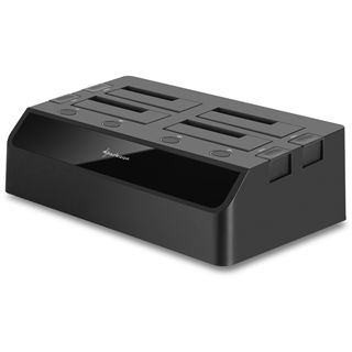 "Sharkoon SATA Quickport Quattro USB 3.0 Dockingstation für 2.5"" und 3.5"" Festplatten (4044951011285)"