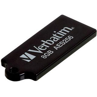 8 GB Verbatim Secure schwarz USB 2.0