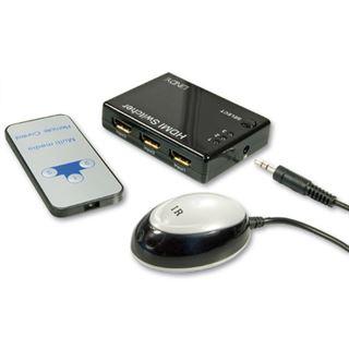Lindy HDMI 1.3 Switch Remote 3:1 Schalten Sie zwischen 3 HDT