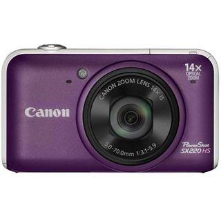 Canon Powershot SX220 HS Lila