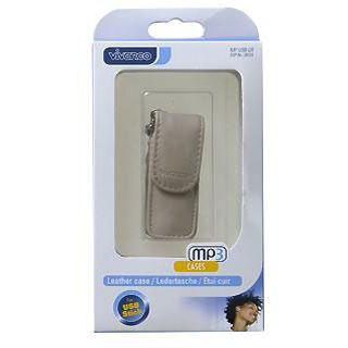 Vivanco VIVANCO MP USB CR USB Stick Tasche,cream,innen 6,5x2x1cm