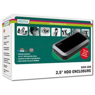 """2.5""""(6,35cm) Digitus DA-70555-1 USB 2.0/SATA"""