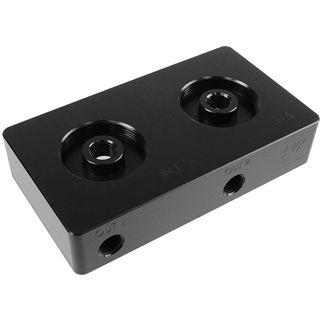 EK Water Blocks EK-D5 Dual TOP 2-LOOPS - Black Acetal