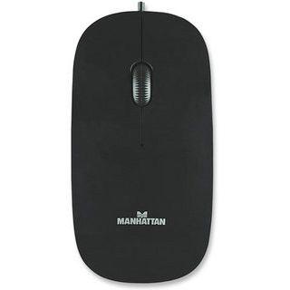 Manhattan Slim Optical USB schwarz (kabelgebunden)