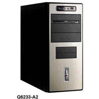 Codegen Midi Tower 460W Q-6233-A2 Schwarz/Grau
