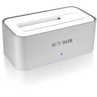 """ICY BOX IB-111StU3-Wh SATA Dockingstation für 2.5"""" und 3.5"""" Festplatten (20705)"""