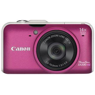 Canon Powershot SX230 HS Pink