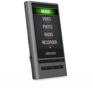 "2,4"" (6,09cm) 8GB Archos 24Y Vision Media Player Yamaha DSP"