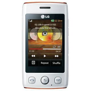 LG Electronics T300 Cookie Lite Pink/White