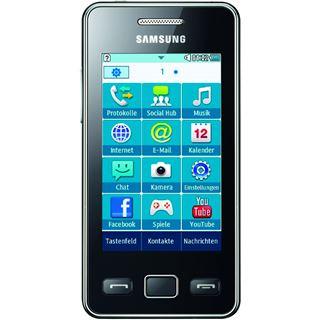 Samsung Star II S5260 Onyx Black
