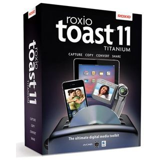Roxio Toast 11.0 Titanium 64 Bit Deutsch Brennprogramm Vollversion Mac (DVD)