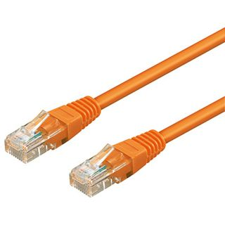 3.00m Good Connections Cat. 6 Patchkabel UTP RJ45 Stecker auf RJ45 Stecker Orange