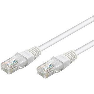 7.50m Good Connections Cat. 6 Patchkabel UTP RJ45 Stecker auf RJ45 Stecker Weiß