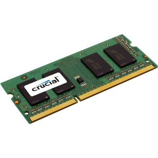1GB Crucial Value DDR3-1333 SO-DIMM CL9 Single