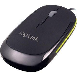 LogiLink LogiLink Optical Mouse USB schwarz (kabelgebunden)