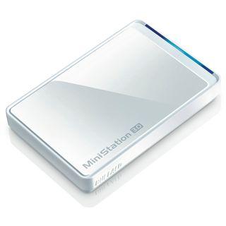 """1000GB Buffalo MiniStation HD-PCT1TU3/BW-EU 2.5"""" (6.4cm) USB 3.0 weiss"""